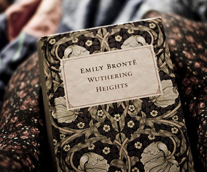 book, wuthering heights, and emily bronte image