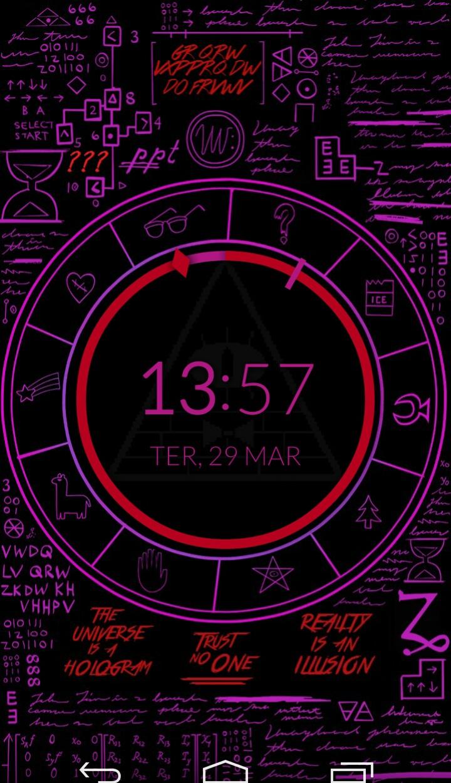 Gravity Falls Lockscreen Discovered By Rocio Orccotoma