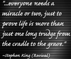 miracle, revival, and Stephen King image