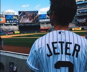 joe sugg, baseball, and yankees image