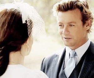 simon baker, the mentalist, and tv show image