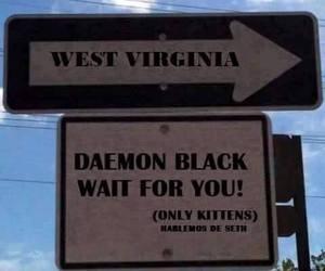 daemon black