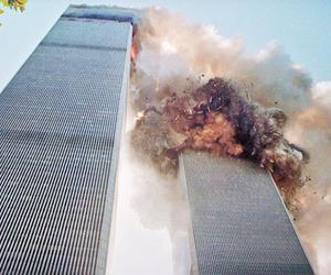 twin towers and bang image