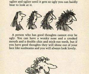 quotes, Roald Dahl, and ugly image