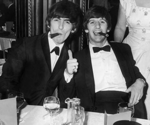 george harrison, ringo starr, and the beatles image