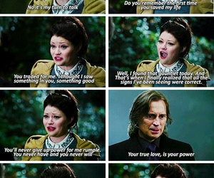 rumbelle, belle, and once upon a time image