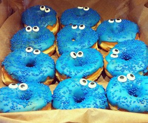donuts and blue image