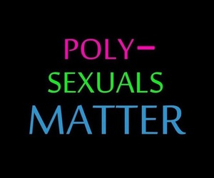 fact, quote, and polysexual image