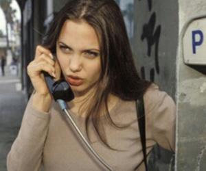 Angelina Jolie, icons, and tumblr girls image