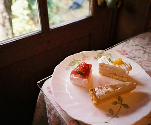 cakes, photography, and sad image