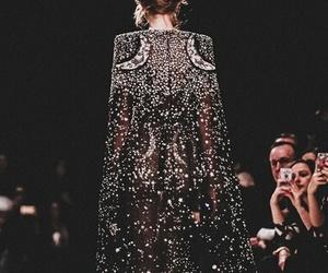 dark, dress, and fashion image