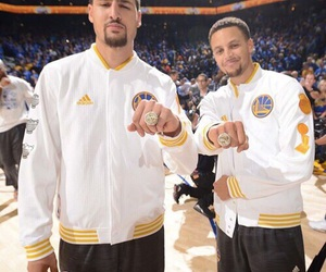 NBA, Basketball, and golden state warriors image