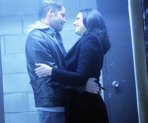 once upon a time, regina mills, and outlawqueen image