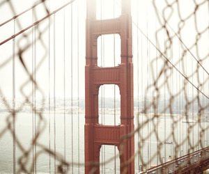 photography, Dream, and golden gate image
