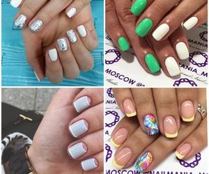 classy, glitter, and manicure image