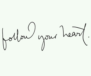 quotes, heart, and follow image