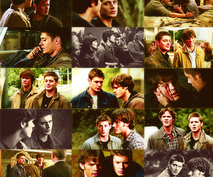 supernatural, dean, and sam winchester image