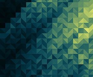 green, wallpaper, and geometric image