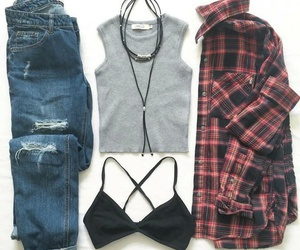 outfit, beauty, and clothing image