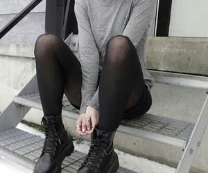 boots, grunge, and fashion image