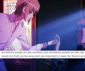 still crying, k anime, and mikoto image