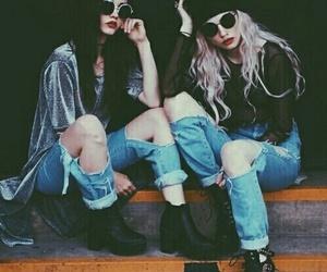 grunge, girl, and style image
