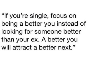 single, quote, and ex image