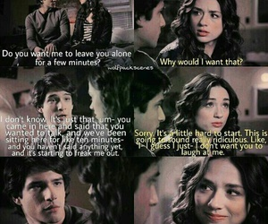 teen wolf, scallison, and tyler posey image