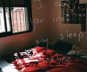 sleep, quote, and bed image