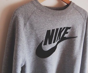 nike, sweater, and grey image