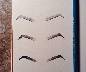drawing, eyebrows, and beautiful image