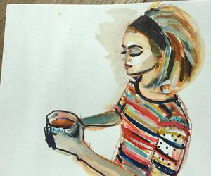 art, painting, and lucy hale image