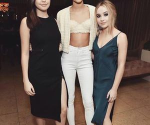 marie claire, bailee madison, and sabrina carpenter image