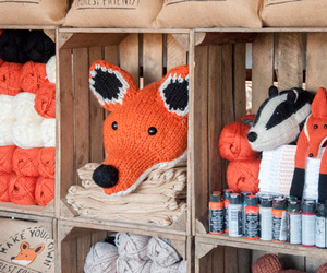 craft, fox, and toy image