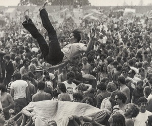 1969, woodstock, and festival image