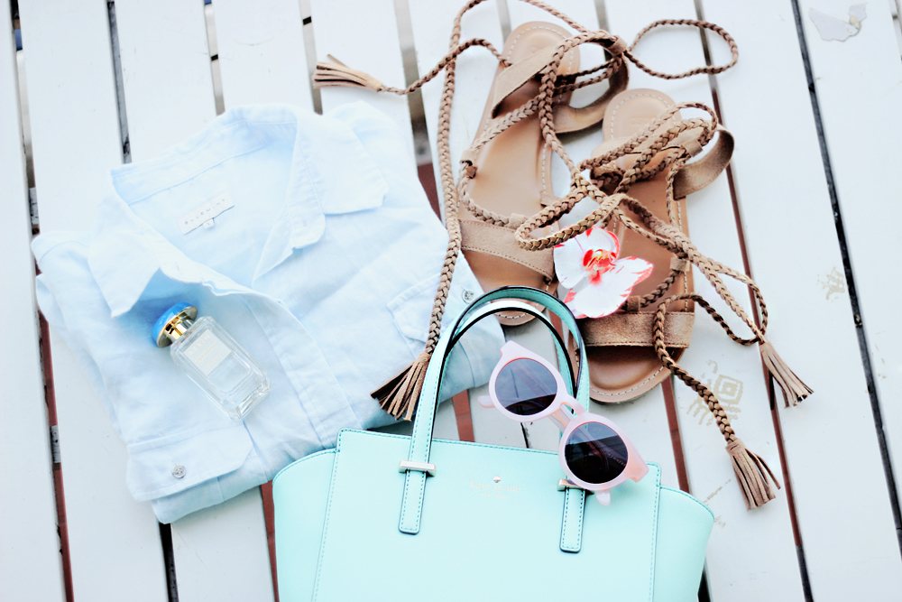 baby blue, blogger, and kate spade image