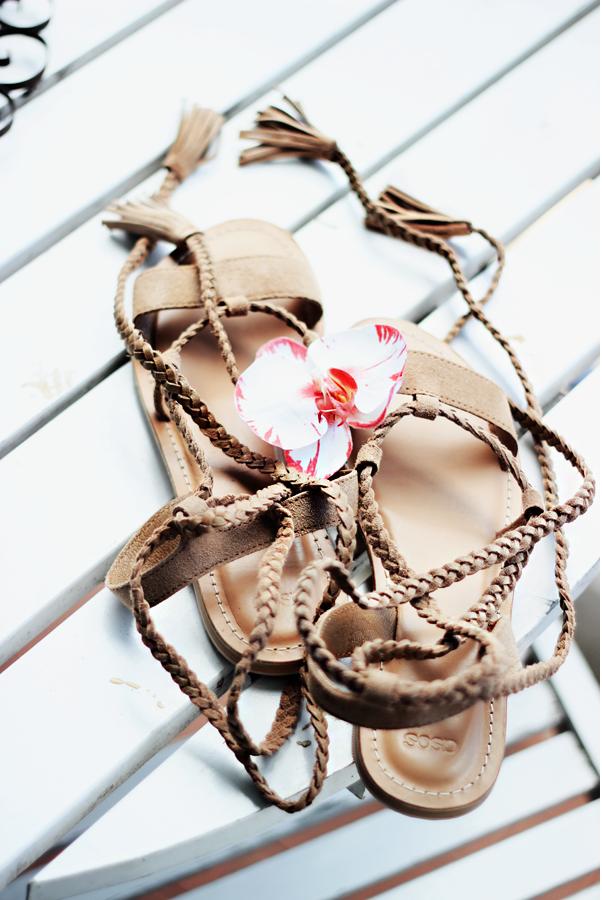 asos, fashion blogger, and lace up image