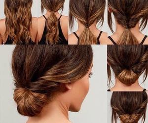girl, hair, and diy image