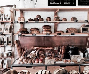 bakery, bread, and food image
