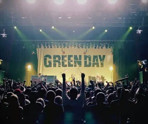 green day, concert, and music image