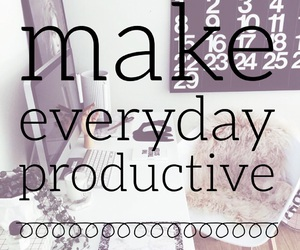 easel and motivational image