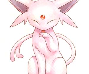 pokemon, espeon, and cute image