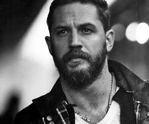 tom hardy, actor, and black and white image