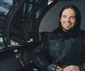civil war, sebastian stan, and bucky barnes image