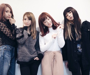 band, member, and girl image