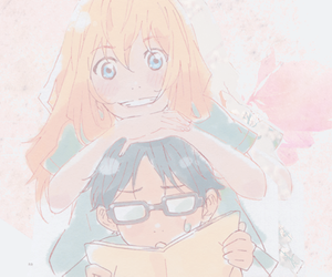 your lie in april, anime, and arima kousei image