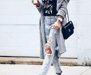 street, ❤, and style image