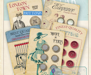 buttons, etsy, and collage sheet image