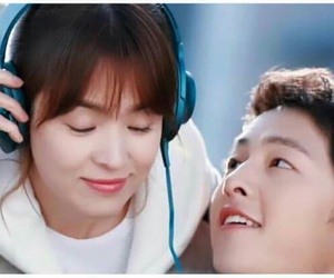 couple, dots, and oppa image