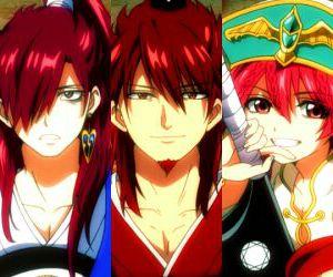 anime, kougyoku ren, and family image